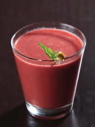 zumo rojo